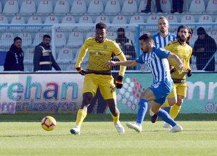 BB Erzurumspor - Yeni Malatyaspor maçından kareler