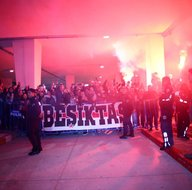 Beşiktaşa Konyada coşkulu karşılama