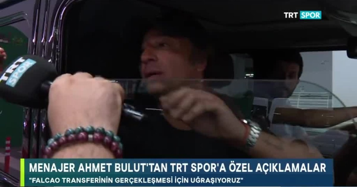 Falcao Galatasaray'a geliyor mu? Ahmet Bulut açıkladı...