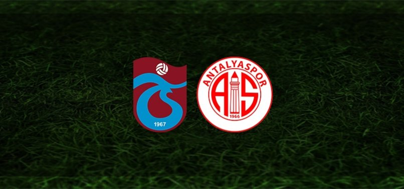 Trabzonspor - Antalyaspor maçı ne zaman, saat kaçta ve hangi kanalda? | Süper Lig