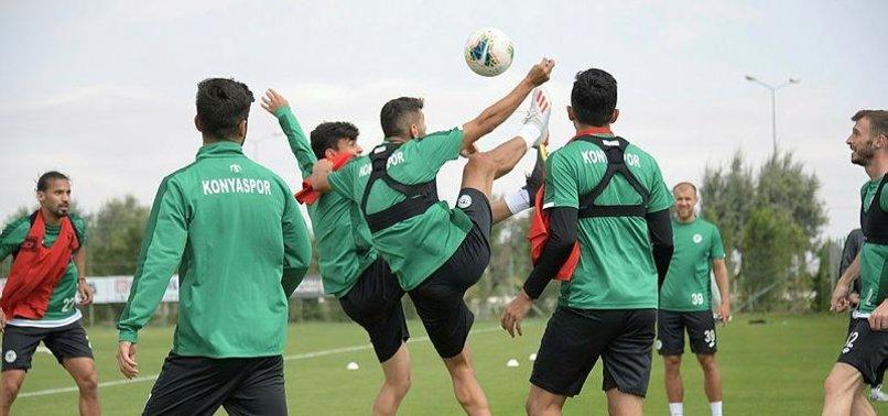 Konyaspor'da G.Saray maçı hazırlıkları başladı
