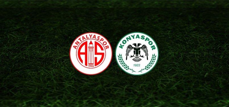 Antalyaspor - Konyaspor maçı ne zaman, saat kaçta ve hangi kanalda? | Süper Lig