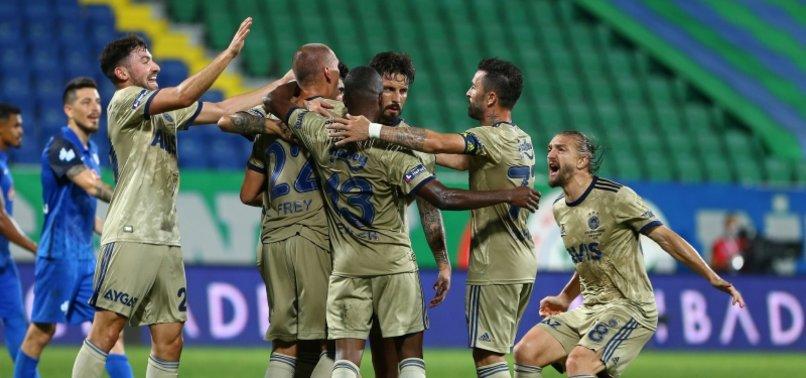 Fenerbahçe Hatayspor'u ağırlıyor