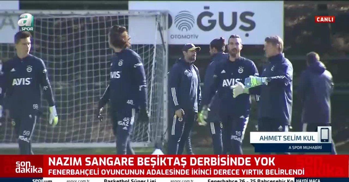 Nazım Sangare Beşiktaş derbisinde yok