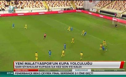 Yeni Malatyaspor'un kupa yolculuğu