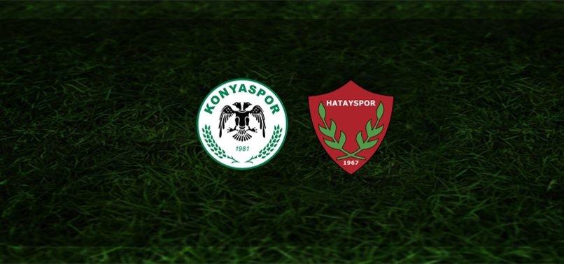 Konyaspor-Hatayspor maçı ne zaman, saat kaçta ve hangi kanalda? | Süper Lig