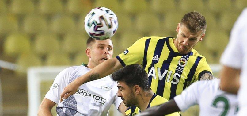 Fenerbahçe'nin Konyaspor maçında bulduğu gol VAR'a takıldı! İşte o pozisyon