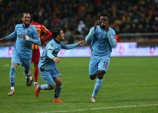 Trabzonsporlu Ekubanın duygusal anları