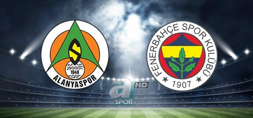 Alanyaspor - Fenerbahçe maçı ne zaman saat kaçta hangi kanalda?