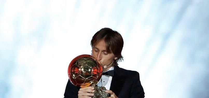 Altın Top ödülü Modric'in