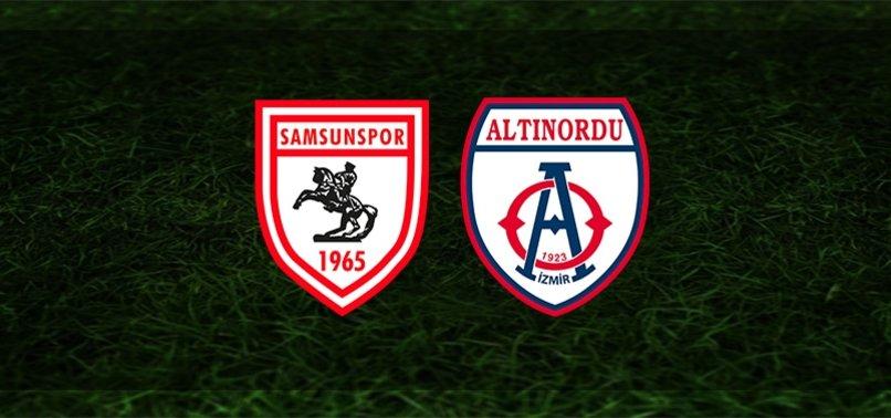 Samsunspor - Altınordu maçı ne zaman, saat kaçta ve hangi kanaldan canlı yayınlanacak?   TFF 1. Lig Play-off