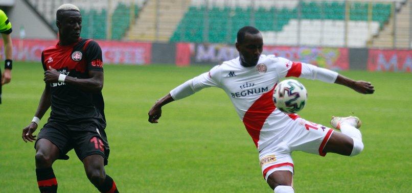 Fatih Karagümrük 2 - 2 Antalyaspor (MAÇ SONUCU - ÖZET)