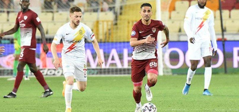 Yeni Malatyaspor 1-1 Hatayspor (MAÇ SONUCU-ÖZET)