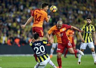 Fenerbahçe-Galatasaray karşılaşmasından kareler
