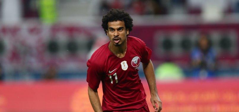 Katarlı futbolcu Akram Afif'ten asker selamı!