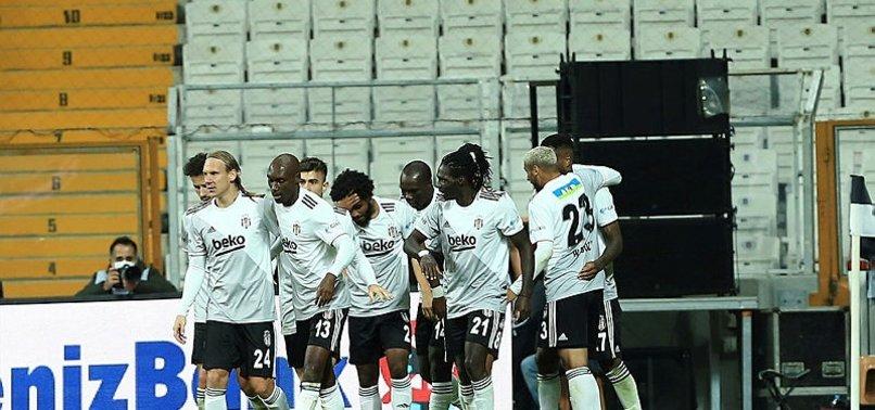 Beşiktaş, Vodafone Park'ta ilk galibiyetini aldı
