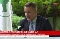 Süper Lig'de kalıcı olmak istiyoruz