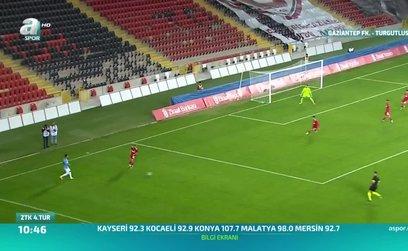 Gaziantep FK 3-0 Turgutluspor (ÖZET)