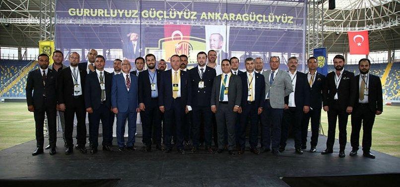 Ankaragücü'nün yeni başkanı belli oldu!