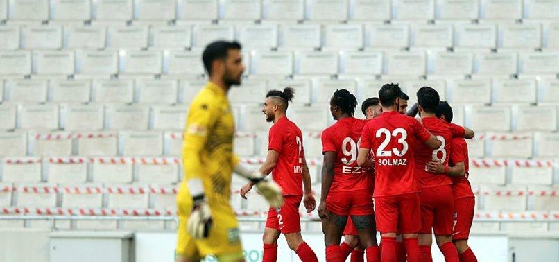 Bursaspor 0-3 Ankara Keçiörengücü (MAÇ SONUCU-ÖZET)