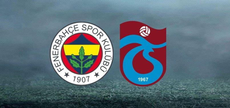 Ziraat Türkiye Kupası'nda yarı final heyecanı! İşte Fenerbahçe-Trabzonspor maçı muhtemel 11'leri