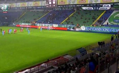 Çaykur Rizespor 3 - 1 Yılport Samsunspor