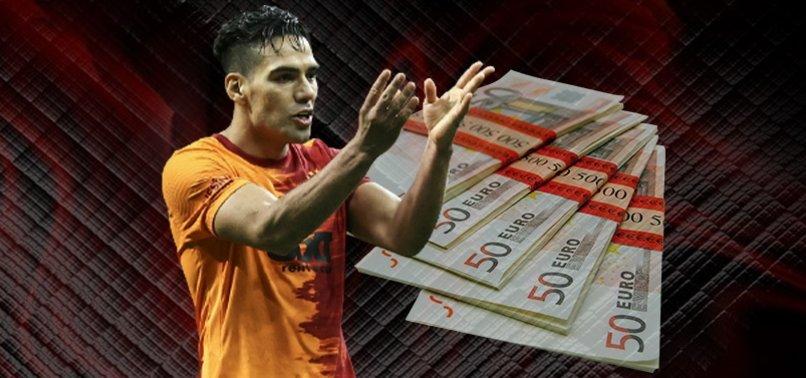 Galatasaray'da Radamel Falcao parasına sil baştan takım! İşte o rakam...