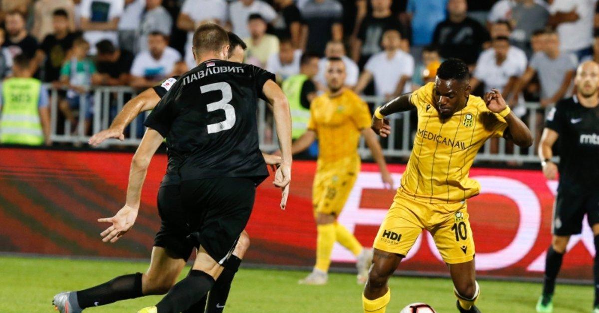 Partizan - Yeni Malatyaspor maçından kareler