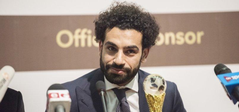 2018'de yılın Afrikalı futbolcusu Salah