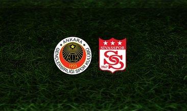 Gençlerbirliği - Sivasspor maçı saat kaçta ve hangi kanalda?