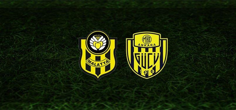 Yeni Malatyaspor - Ankaragücü maçı CANLI