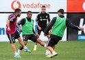 Beşiktaş A.Gücü maçının hazırlıklarını sürdürdü