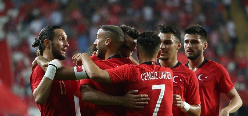 A Milli Takım'ımızın 2022 Dünya Kupası Elemeleri'ndeki rakipleri belli oldu