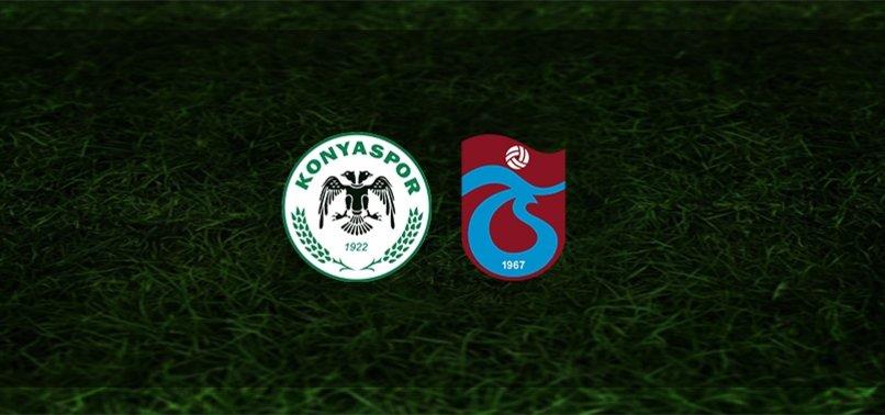 Konyaspor - Trabzonspor maçı ne zaman, saat kaçta ve hangi kanalda?   Süper Lig