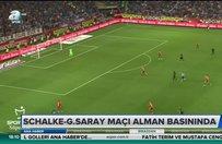 Schalke -Galatasaray maçı Alman basınında