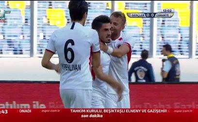 Gençlerbirliği 1-0 Osmaniyespor