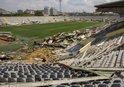 Ankara 19 Mayıs Stadının yıkımı sürüyor