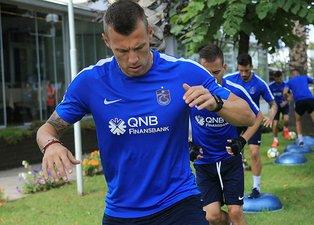 Trabzonsporda şok kadro dışı