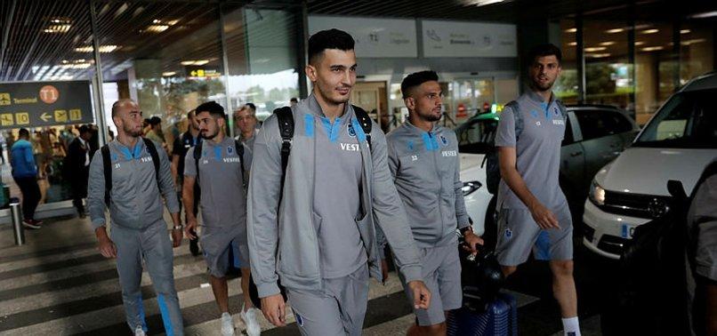 Trabzonspor İspanya'nın Madrid kentine geldi