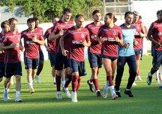 Trabzonsporda Kasımpaşa maçı hazırlıkları