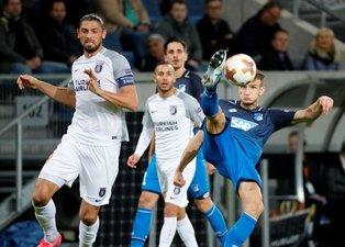 Hoffenheim-Medipol Başakşehir karşılaşmasından kareler