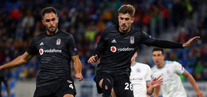 İşte Bratislava-Beşiktaş maçından kareler...