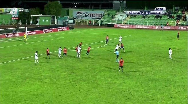 Giresunspor 2-1 Kocaelispor
