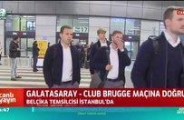 Club Brugge İstanbul'a geldi