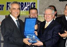 Fenerbahçe Başkanı Yıldırım, Hatayda
