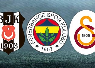 İşte Beşiktaş Fenerbahçe ve Galatasaray'ın transfer hedefindeki isimler! Son dakika spor haberleri...