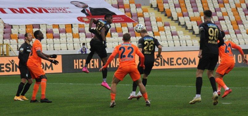 Yeni Malatyaspor 1-1 Başakşehir (MAÇ SONUCU - ÖZET)