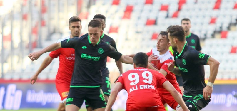 Antalyaspor 0 - 0 Konyaspor (MAÇ SONUCU - ÖZET)