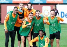 Galatasaray, Bursaspor maçının hazırlıklarını sürdürdü