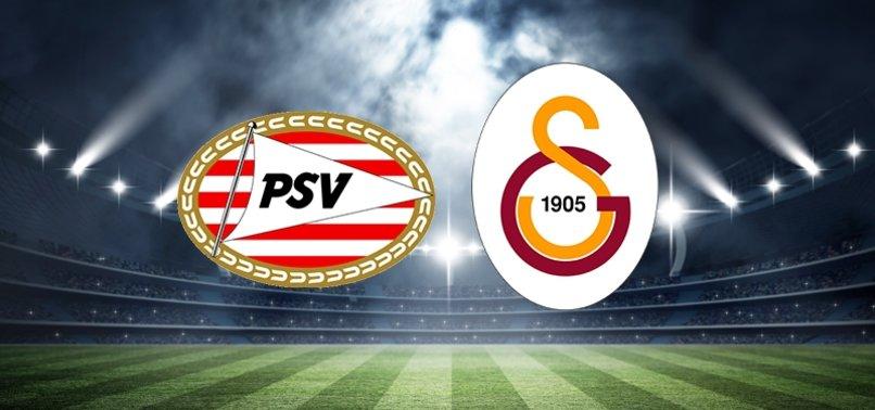 PSV - Galatasaray maçı ne zaman saat kaçta hangi kanalda CANLI yayınlanacak? PSV - Galatasaray maçı şifresiz mi?